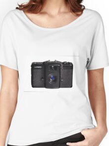 Lomo Camera Women's Relaxed Fit T-Shirt