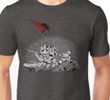 Raising the flag Unisex T-Shirt