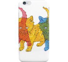 RGB Kittens iPhone Case/Skin
