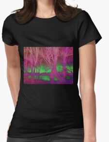 Tripping Through The Trees Womens Fitted T-Shirt