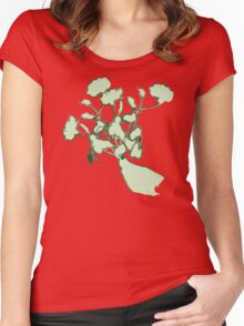 Flowers in Hand Women's Fitted Scoop T-Shirt