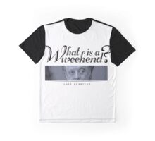Downton Abbey, Violet, What is a weekend? Graphic T-Shirt