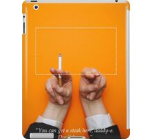 Minimalist Tarantino- Pulp Fiction Quote iPad Case/Skin