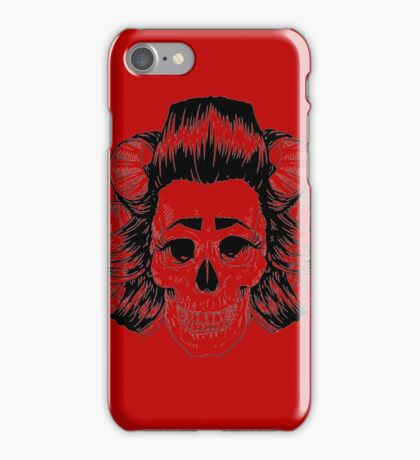 THE SKULL IS COOL iPhone Case/Skin