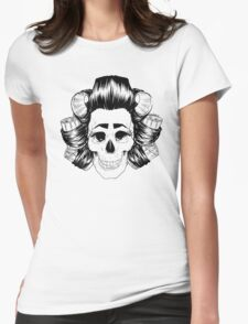 THE SKULL IS COOL Womens Fitted T-Shirt