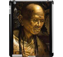 Statue: Buddhist Monk iPad Case/Skin