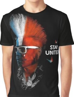 STAY UNITED Graphic T-Shirt
