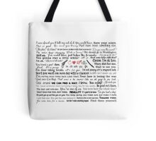 ALL THE BEST RICHONNE QUOTES Tote Bag