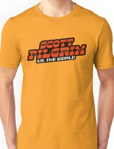 Scottpilgrim vs the world logo Unisex T-Shirt