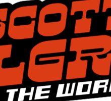Scottpilgrim vs the world logo Sticker
