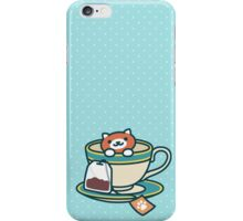 Neko Atsume - Ginger tea iPhone Case/Skin