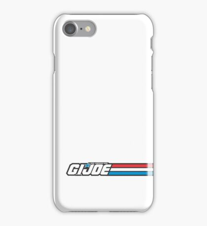 GIJOE G.I.JOE LOGO iPhone Case/Skin