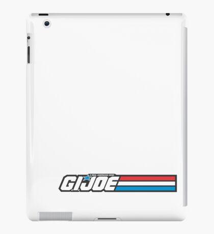 GIJOE G.I.JOE LOGO iPad Case/Skin