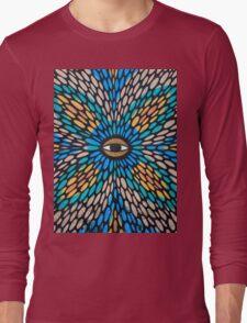 Psychedelic Street Art, Tel Aviv Long Sleeve T-Shirt