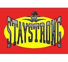 STAYSTRONG-FIST Photographic Print