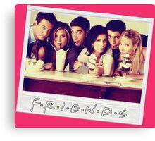 Friends --- Polaroid Group Photo Canvas Print