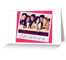 Friends --- Polaroid Group Photo Greeting Card