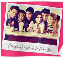 Friends --- Polaroid Group Photo Poster