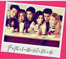 Friends --- Polaroid Group Photo Photographic Print
