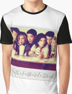 Friends --- Polaroid Group Photo Graphic T-Shirt