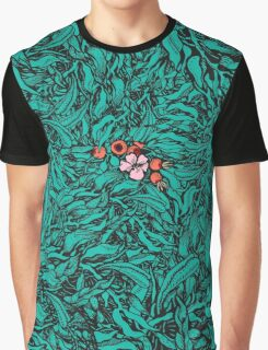 Fantazy leaves background Graphic T-Shirt