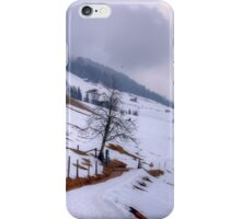 Saalbach, Austria iPhone Case/Skin