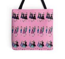 Retro Catwalk Tote Bag
