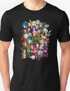 League of Legends chibis T-Shirt