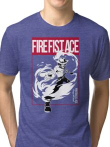 THIS IS MANGA - FIRE FIST ACE Tri-blend T-Shirt