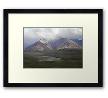 Moods Of Denali Framed Print
