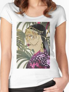 Jungle Queen Women's Fitted Scoop T-Shirt