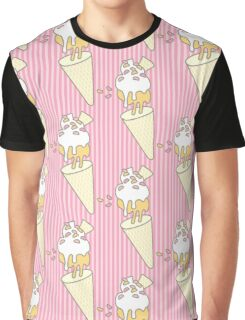 Strawberry Antigravity Ice Creams Graphic T-Shirt