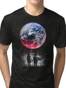 WATCH THE WORLD DIE Tri-blend T-Shirt