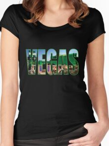 Vegas (MGM Grand) Women's Fitted Scoop T-Shirt
