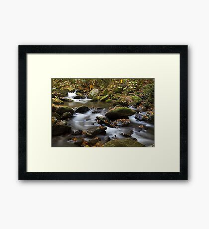 Mountain Melodies Framed Print