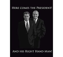 Hamilton x The West Wing - I need someone to lighten the load (Jed and Leo) Photographic Print