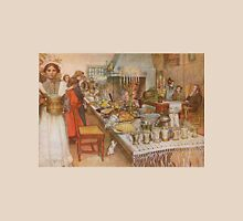 The Christmas Eve, watercolor by Carl Larsson (1904-1905) Unisex T-Shirt