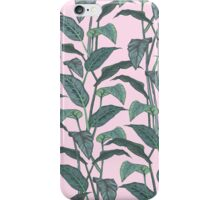 Pink Leaf iPhone Case/Skin
