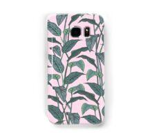 Pink Leaf Samsung Galaxy Case/Skin