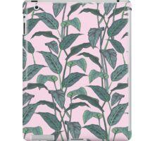Pink Leaf iPad Case/Skin