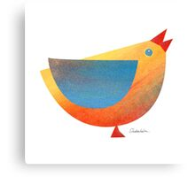 Bird in Shapes Canvas Print