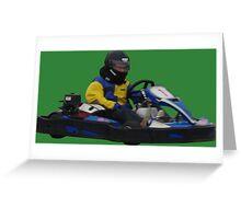 Kart MG Greeting Card