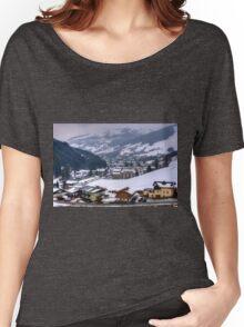 Saalbach, Austria Women's Relaxed Fit T-Shirt