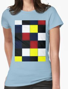 squares in square Womens Fitted T-Shirt