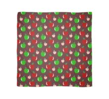 Green and Red Apple Pattern Scarf