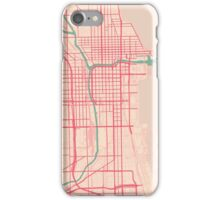 Chicago Map (Spring)  iPhone Case/Skin