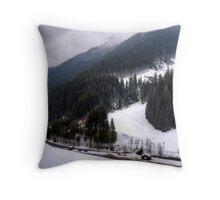 Saalbach, Austria Throw Pillow