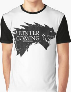 Hunter is Coming - Rathalos Graphic T-Shirt