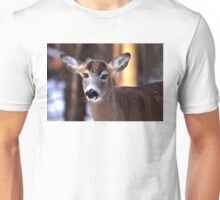 Bright eyes - White-tailed Deer Unisex T-Shirt