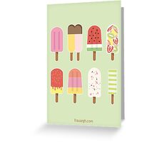 Ice Ice Baby - hoch Greeting Card